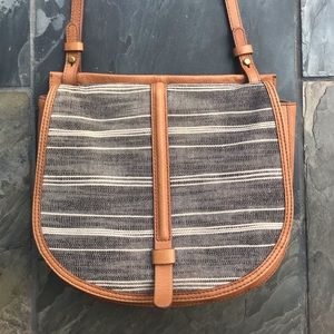 Fossil Crossbody Saddle Bag